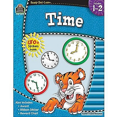 Teacher Created Resources® Ready-Set-Learn Series Time Book, Grades 1st - 2nd