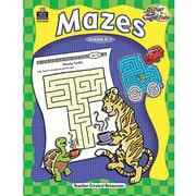 Teacher Created Resources® Start To Finish Mazes Book, Grades Kindergarten - 1st
