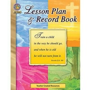 Teacher Created Resources® Christian Lesson Plan and Record Book, K - 8th
