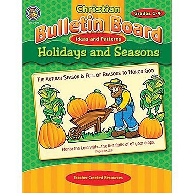 Teacher Created Resources® Christian Bulletin Board Ideas and Pattern, Holidays and Seasons