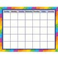 Teacher Created Resources® Calendar Chart, Rainbow