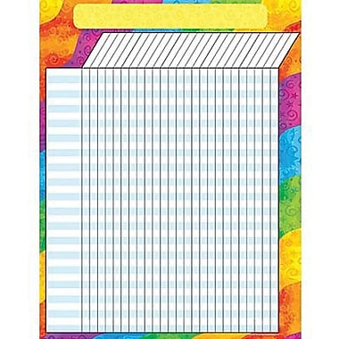 Teacher Created Resources® Incentive Chart, Rainbow