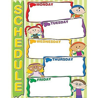 Teacher Created Resources® Schedule Chart