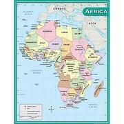Teacher Created Resources® Africa Map Chart