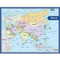 Teacher Created Resources® Asia Map Chart