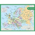 Teacher Created Resources® Europe Map Chart