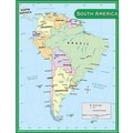 Teacher Created Resources® South America Map Chart
