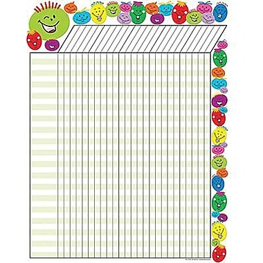 Teacher Created Resources® Incentive Chart, Silly Smiles