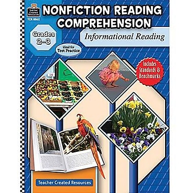 Teacher Created Resources® Nonfiction Reading Comprehension Informational Reading Book, Grades 2-3rd
