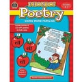 Teacher Created Resources® Using Word Families Phonics Poetry, Grades Kindergarten -2nd