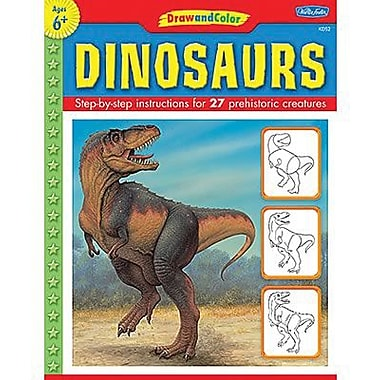 Teacher Created Resources® Learn To Draw Dinosaurs Book