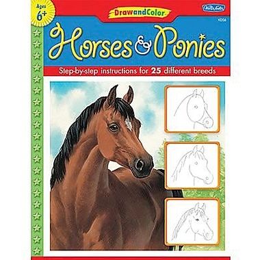 Teacher Created Resources® Learn To Draw Horses and Ponies Book