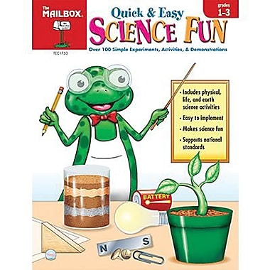 The Mailbox Books® Books® Quick and Easy Science Fun Book, Grades 1st - 3rd