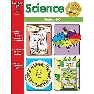 The Mailbox Books® Books® Science Book, Grades 4th - 6th