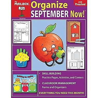 The Mailbox Books® Organize September Now! Monthly Plan Book, Grades pre-school