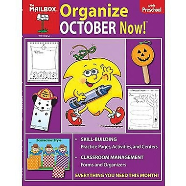 The Mailbox Books® Organize October Now! Monthly Plan Book, Grades Pre School
