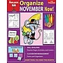 The Mailbox Books® Organize November Now! Monthly Plan