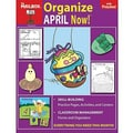The Mailbox Books® Organize April Now! Monthly Plan Book, Grades pre-school