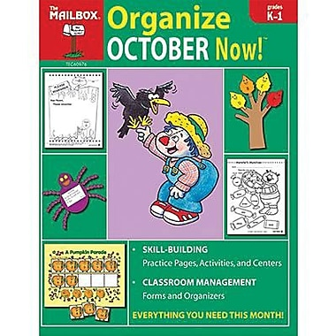 The Mailbox Books® Organize October Now! Monthly Plan Book, Grades Kindergarten - 1st