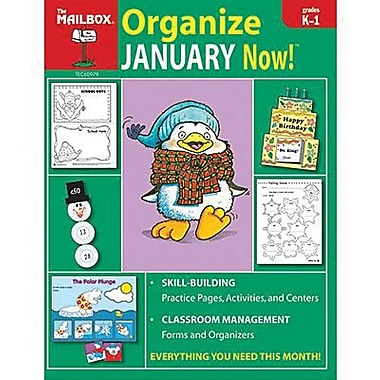 The Mailbox Books® Organize January Now! Monthly Plan Book, Grades Kindergarten - 1st