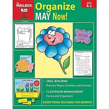 The Mailbox Books® Organize May Now! Monthly Plan Book, Grades Kindergarten - 1st