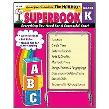 The Mailbox Books® Superbook Plan Book, Grades Kindergarten