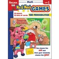The Mailbox Books® Math Mix and Match Game Book, Grades 1st