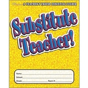 Teacher's Friend® Substitute Teacher Essentials Folder