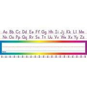 Teacher's Friend® pre-school - 1st Grades Name Plate, Alphabet-Number Line Standard