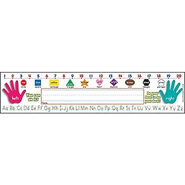 Teacher's Friend® pre-school - 3rd Grades Name Plate, Primary Grades Standard Manuscript