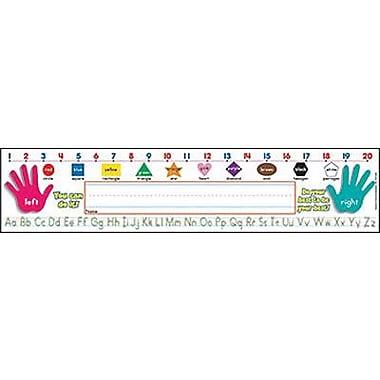 Teacher's Friend® pre-school - 3rd Grades Name Plate, Primary Grades Standard Manuscript