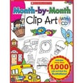 Teacher's Friend® Month-By-Month Clip Art Book, Grades Kindergarten - 5th