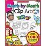 Teacher's Friend® Month-By-Month Clip Art Book, Grades