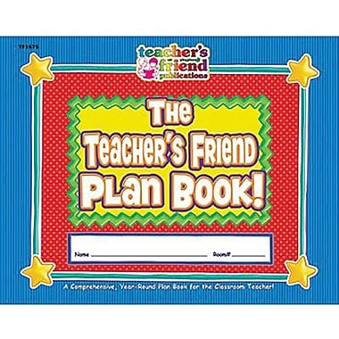 Teacher's Friend® Plan Book