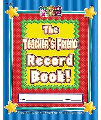 Teacher's Friend The Teachers Friend Record Book 871799