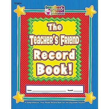Teacher's Friend® The Teacher's Friend Record Book