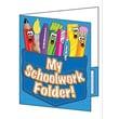 Teacher's Friend® My School Work Folder Pocket Folder