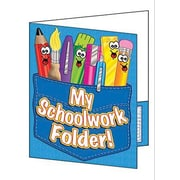 Teacher's Friend® My School Work Folder Pocket Folder