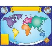 Teacher's Friend® World Map Chart