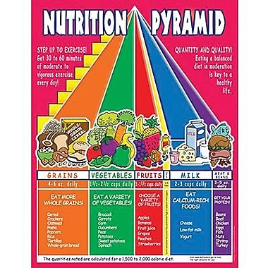 Teacher's Friend® Nutrition Pyramid Chart