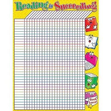 Teacher's Friend® Incentive Chart, Reading Is Succeeding
