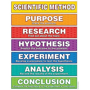 Teacher's Friend® Scientific Method Chart