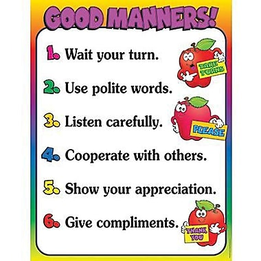 Teacher's Friend® Good Manners Chart