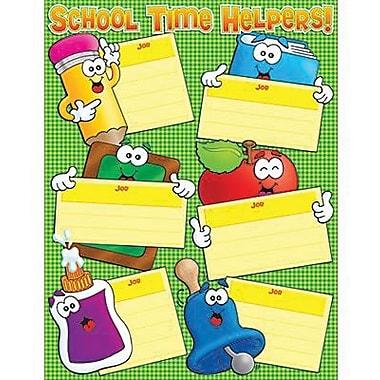 Teacher's Friend® School Time Helpers Chart