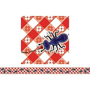 Teacher's Friend® Pre-kindergarten - 3rd Grades Bulletin Board Border With Corners, FanTastic Ants