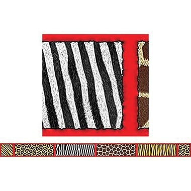 Teacher's Friend® pre-kindergarten - 3rd Grades Bulletin Board Border With Corners, Safari
