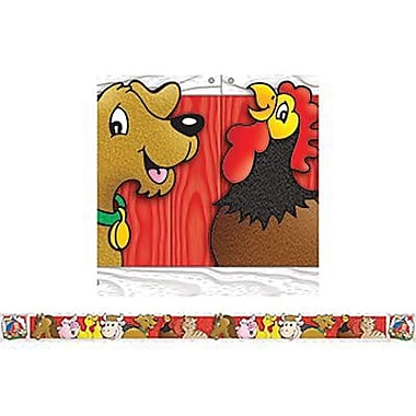 Teacher's Friend® Kindergarten - 2nd Grades Bulletin Board Border With Corners, Down On The Farm