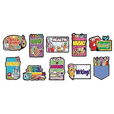 Teacher's Friend® Bulletin Board Set, Classroom Signs