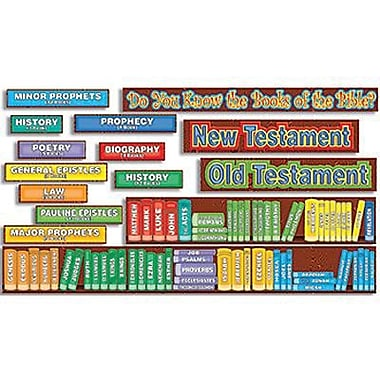 Teacher's Friend® Bulletin Board Set, Books of The Bible