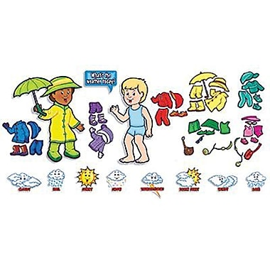 Teacher's Friend® Bulletin Board Set, Weather Kids